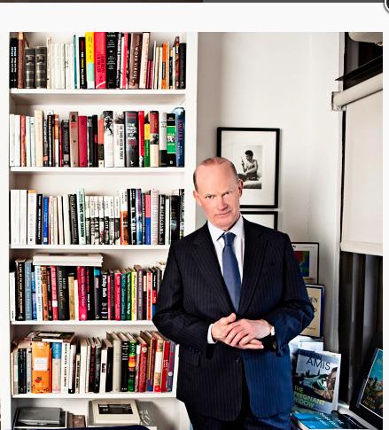 Andrew Wylie Photo Harvard Magazine