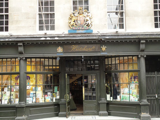 HATCHARDS BY www.newyorksocialdiary