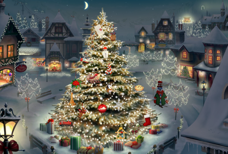 CHRISTMAS VILLAGE SIN RELOJ 1024X778