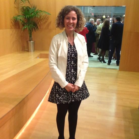 Ana Díaz Velasco, ganadora del XII Premio de Relato Breve Gerald Brenan