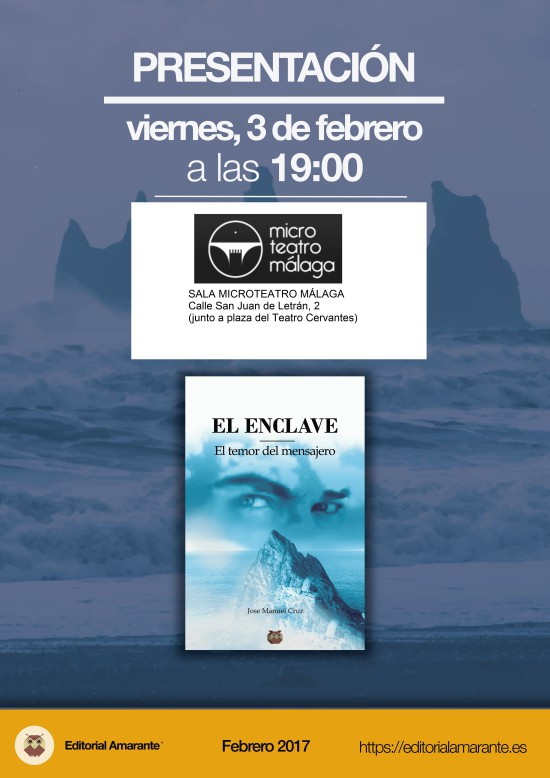 Cartel A3 El enclave 3 FEB-01