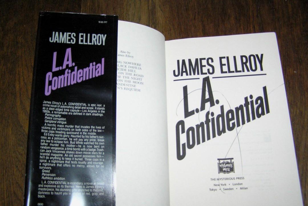 LA Confidencial, novela negra de James Ellroy, post de José Manuel Cruz